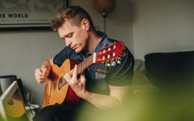 Concert in de tuin van Klaas Spekken