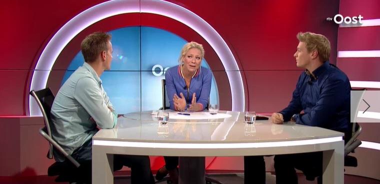 TV-optreden RTV Oost: over het einde van NORMAAL