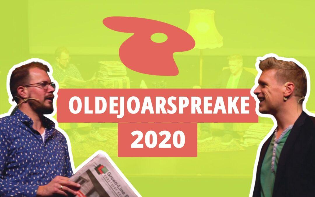 De WATATA Oldejoarspreake – Twentse Oudejaarsconference 2020